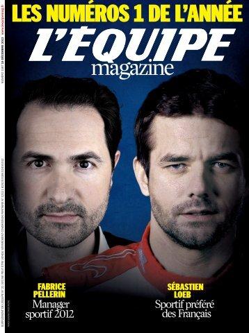 15/12/2012 L'Equipe Magazine - NICE SWIM