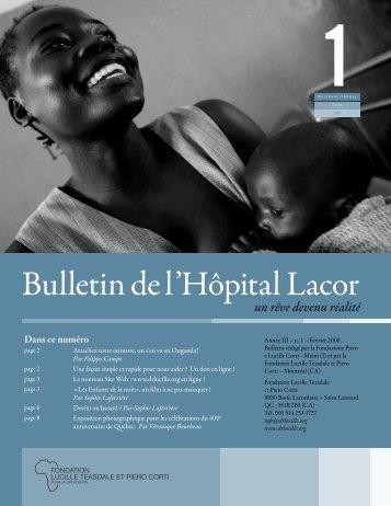Février (bulletin_de_l_hopital_lacor_2008_1.pdf) - Dominique Corti on