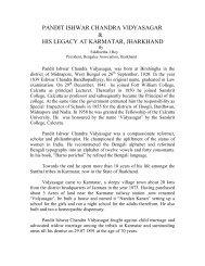 pandit ishwar chandra vidyasagar - Bengalee Association Bihar