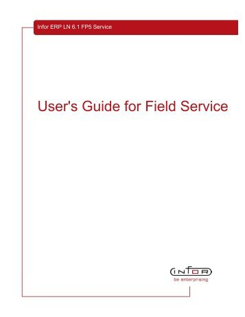 User's Guide for Field Service - Baan Implementation Help ...