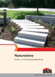 Natursteine - Karl Bachl GmbH & Co KG