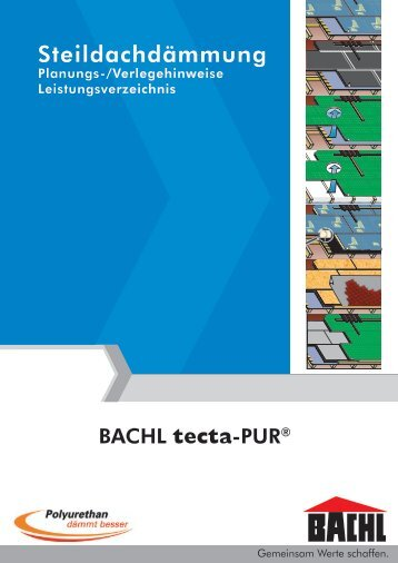 Verlegehinweise - Karl Bachl GmbH & Co KG