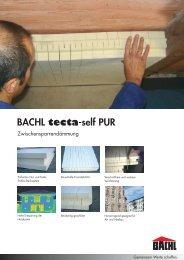 BACHL tecta-self PUR - Karl Bachl GmbH & Co KG