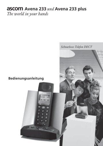 Schnurloses Telefon DECT - Bedienungsanleitungen