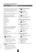 Schnurloses Telefon DECT - Bedienungsanleitungen - Page 7
