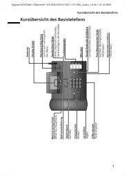 Gigaset SX353 isdn.pdf - Bedienungsanleitungen