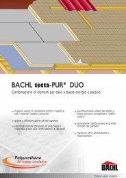 BACHL tecta-PUR® DUO - Karl Bachl GmbH & Co KG