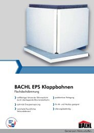 BACHL EPS Klappbahnen - Karl Bachl GmbH & Co KG