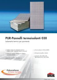 PUR-Pannelli termoisolanti 030 - Karl Bachl GmbH & Co KG
