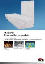 PREtherm Einzelseiten.qxp - Karl Bachl GmbH & Co KG