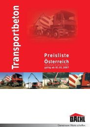 TransportbetonTransportbeton - Bachl