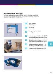 Maskiner och verktyg