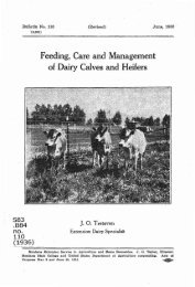 Feeding,Care and Management of Dairy Calves and Heifers