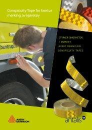 Conspicuity Tape for kontur merking av kjøretøy
