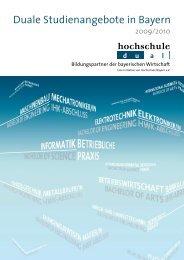 Duale Studienangebote in Bayern - Hochschule dual