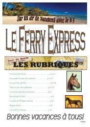 LES RUBRIQUES - Ecole Jules Ferry Le Viguier