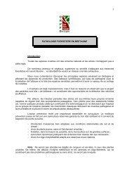 Pathologie forestière en Bretagne - Centres Régionaux de la ...