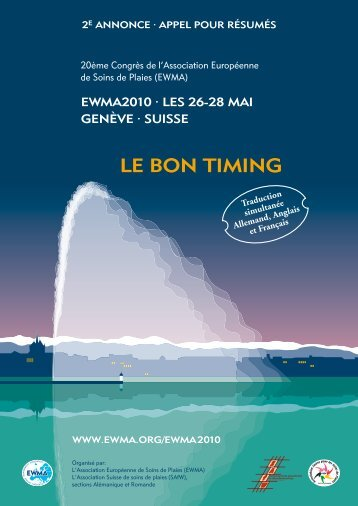 LE BON TIMING - EWMA 2010