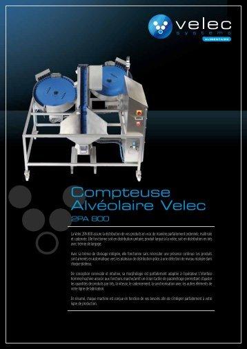 Compteuse Alvéolaire Velec - Velec-systems