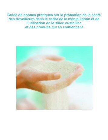 Guide de bonnes pratiques sur la protection de la santé des ...