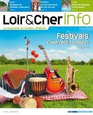 Festivals - Conseil général du Loir et Cher