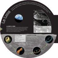 La Lune est l'unique satellite naturel de la Terre et sa plus proche ...
