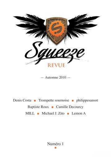Numéro 1 - Revue Squeeze