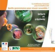 Les actes de la conférence - Ministère du Développement durable
