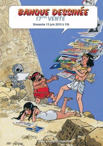 Téléchargez le catalogue PDF - Banque Dessinée