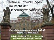 Neuere Entwicklungen im Recht der ... - Bagaep.de