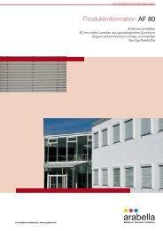Produktinformation AF 80 - Balkon-Zaun.de