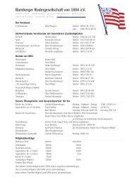 Nützliche Informationen für neue Mitglieder auf einen Blick