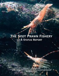 The Spot Prawn Fishery The Spot Prawn Fishery - Basel Action ...