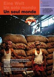 Le prix de la lutte contre la pauvreté - Deza - admin.ch