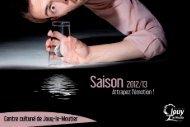 téléchargez la brochure de saison culturelle 2012 ... - Jouy-le-Moutier