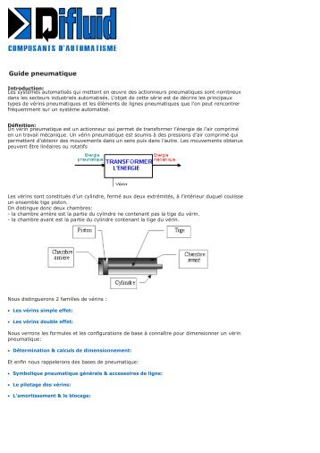 Guide pneumatique - Difluid.fr