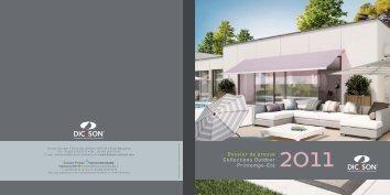 Dossier de presse 2011 Collections Outdoor Printemps-Eté - Dickson