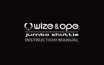 Get the Jumbo watch instruction manual - Wize and Ope
