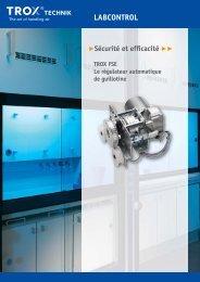 FSE TROX - Brochure de vente