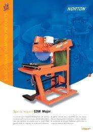 Scie de maçon EDW Major - Norton Construction Products