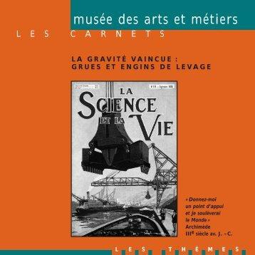 la grue - Musée des arts et métiers