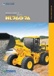 brochure HL760-7A - Hyundai Construction Equipement Maroc