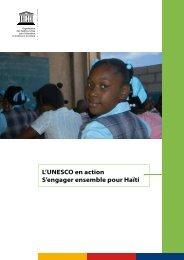 L'UNESCO en action: s'engager ensemble pour ... - unesdoc - Unesco