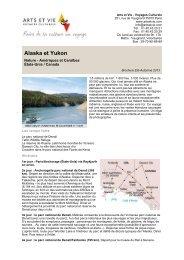 Alaska et Yukon - Arts et Vie