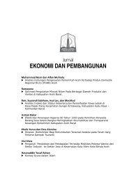 EKONOMI DAN PEMBANGUNAN - BAPPEDA Aceh - Pemerintah ...