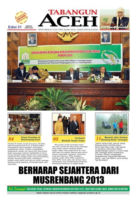 Download Document Bappeda Aceh