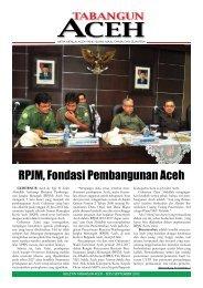 Tabloid Edisi Khusus September 2012 - BAPPEDA Aceh