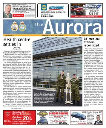 Jan 7 2013 - The Aurora Newspaper