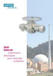 SIWI SIWI-AS Actionneurs électriques pour centrales ... - SIPoS