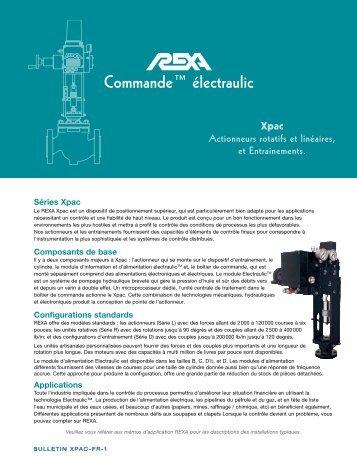 REXA Electraulic Actuation Xpac/Mpac - 5/07